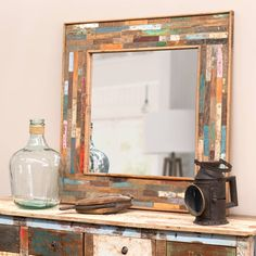 1000 images about house decor on pinterest metals industrial mirrors and metal mirror - Spiegel industrial metal ...