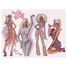 Hayden Williams, Paper Fashion, Fashion Art, Fashion Design, Desenhos Love, Ariana Grande Outfits, Fashion Sketches, Fashion Illustrations, Fashion Sketchbook