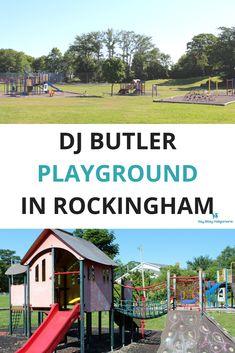 DJ Butler Playground in Rockingham in Halifax