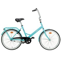 Helkama Jopo bicycle, turquoise