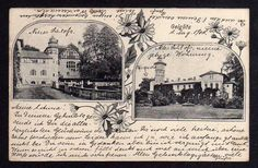 101356 AK Iglice Geiglitz bei Regenwalde 1905 Altes u. Neues Schloß