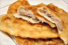 Чебуреки с мясом (очень удачное хрусткое тесто)