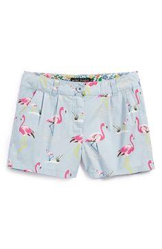Mini Boden 'Summer' Print Shorts (Toddler Girls, Little Girls & Big Girls) available at #Nordstrom