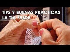 Cómo se hacen los anillos del el tejido en pajita (Tia Frede) - YouTube Wire Crochet, Crochet Doilies, Crochet Flowers, Crochet Stitches, Knit Crochet, Needle Lace, Bobbin Lace, Macrame Design, Filets