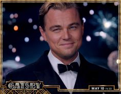 """""""Can't repeat the past? Why of course you can!"""" #LeonardoDiCaprio #TheGreatGatsby"""