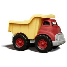 Green Toys Dump Truck  byGreen Toys  4.6 out of 5 starsSee all reviews(63 customer reviews) | Like (18)  List Price:$27.99  Price:$17.99 & eligible for FREE Super Saver Shipping on orders over $25. Details  You Save:$10.00 (36%)  In Stock.  Ships from and sold by Amazon.com. Gift-wrap available.