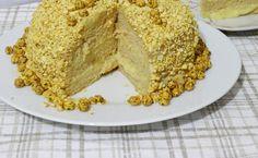 Bu pasta tarifi çok farklı mükemmel bir tariftir. Her pastanın üzerinde leblebi görmeniz mümkün değildir.