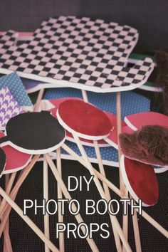Hello Sunshine Photography | homemade photo booth props