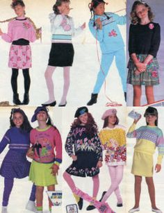 1988 Girls Clothes