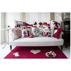 Jan Constantine - King of Hearts Cushion