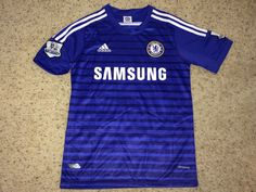32856bc3f Sale CHELSEA FC Soccer Jersey CFC England Football by casualisme England  Football Shirt