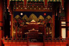 Gyeongbokgung Palace Interior