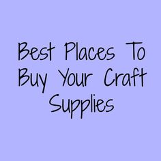 Learn about all the different places you can go to get your yarn, knitting and crochet supplies as well as other supplies. There is more than just Michael's and Joanns