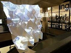 Image result for digital projections onto sculpture