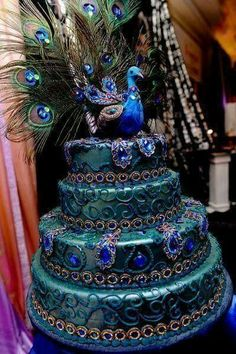 #cake #cakes #peacock #peacockcake #peacockcakes #dessert #yum #yummy #amazing #sweet # delicious #tasty #eat #eating