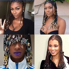 Still Trending : Tribal Hair Photo Credit : instagram The tribal hairstyle accessorised with beads (local and tradional beads) has always been around, execpt for the fact that this time around its …