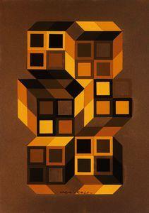 Tridim - (Victor Vasarely)