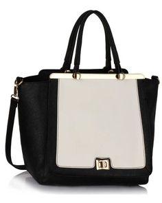 Buy Metal Frame Tote Handbag For Women Online in Pakistan #ShoulderBags #Totebags #Style #Women