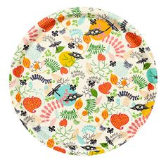 love this colorful tray