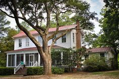 Flannery O'Connor's Andalusia...Mary Flannery O'Connor was an American writer and essayist. An important voice in American literature, O'Connor wrote two novels and 32 short stories, as well as a number of reviews and commentaries