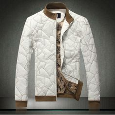 Mens Versace leather jacket | Looking Fresh! | Pinterest