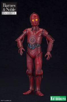ToyzMag.com » R-3PO ARTFX+ Statue l'exclu Star Wars de Barnes & Noble