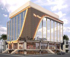 Office Building Architecture, Building Exterior, Building Facade, Facade Architecture, Building Design, Architecture Concept Diagram, Landscape Architecture Design, Commercial Complex, Commercial Design