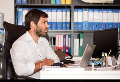Stock photo available for sale at Photodune: Young Man In The Office