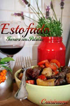 Estofado de Ternera. #Recetas de Carne para #Navidad.