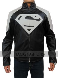 This conspicuous Superman Man of Steel movie black & gray leather jacket is offered for $99 only at Jackyfashions store. Enjoy huge concession on Christmas & New Year Sale. It is terrific for casual hangouts, clubs, bikers and superb for winter season. Hurry, grab one for yourself!!  #SupermanMan #ManofSteel #Smallville #Newyeardeals #merrychristmas #cyberstore #fashionstylist #fashionstore #newfashion #outfit #colourful #Clothing