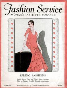 1929 Fashion Service Magazine 20 pages PDF FAS104