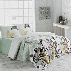 Lehký přehoz přes postel Double Pique 207, 200x235cm