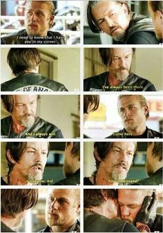 Chibs and Jax, 2 of my favs