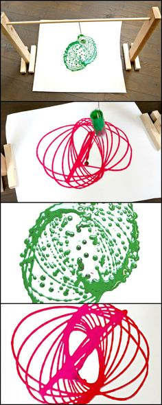 Make this easy, fun and wall-hanging-worthy art project with the kids!  http://kids.ideas2live4.com/2015/08/17/easy-art-for-kids/  Crayons and colouring books are too ordinary. If you're kids are yawning at them already, here's something a bit different and a lot more fun to do!  Do you think your little ones will love it?