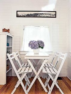 love the little table, nook and window