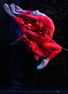 ✯ Firebird :: American Ballet Theater :: Natalia Osipova :: Images from NYTimes✯ Beautiful!