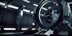 Prometheus Training Module #control chair #pilot seat #interface