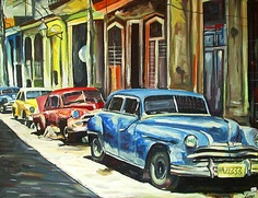 Classic Cars Painting