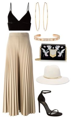 """Untitled #523"" by farrahaqs ❤ liked on Polyvore featuring Givenchy, T By Alexander Wang, Jimmy Choo, Yves Saint Laurent, Gucci, Loren Stewart and Janessa Leone"