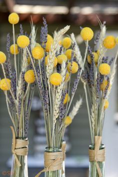 lacendar and billy ball bouquets - Google Search