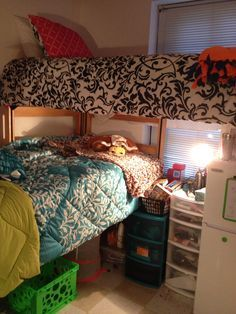 Elegant Loft Dorm Room Ideas