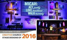 Creative Church Stage Designs of 2015