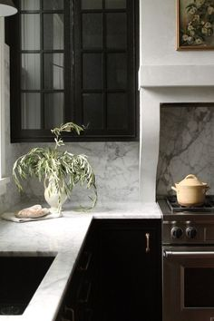European Style Country Kitchen in Rich Tones - Town & Country Living