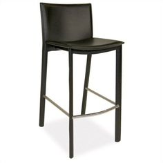 Buy modern counter height bar stools & counter stools with backs at best price range from Moe's Home. We have a great collection of bar stools, counter stools with backs and more! Counter Stools With Backs, Leather Counter Stools, Bar Counter, Brown Bar Stools, Modern Bar Stools, Wooden Dining Room Chairs, Moe's Home Collection, Shop Interiors, Bar Furniture