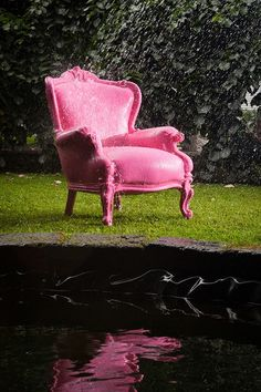 Filippone Outdoor 456 by Oscaritalia Garden armchair with a revisited baroque style.