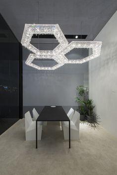 SU Crystal pendant lamp by Manooi #crystalchandelier #lightingdesign #interior #chandelier #coollamps #luxury #Manooi