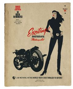 Aristocratic Motorcyclist by Lorenzo | Megadeluxe | For The Love of Speed, Sport & Design