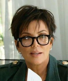 Kris Jenner Oliver Peoples Glasses - Oliver Peoples Afton Shiny Eyeglasses-4