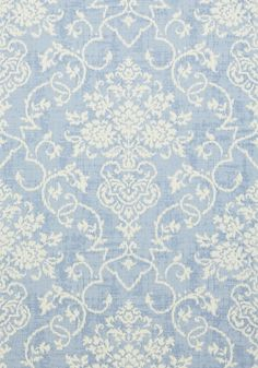 ALICIA, Blue, T89123, Collection Damask Resource 4 from Thibaut
