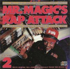 Hip-Hop HQ: V.A. - Mr. Magic's Rap Attack, Vol. 2 [1986]